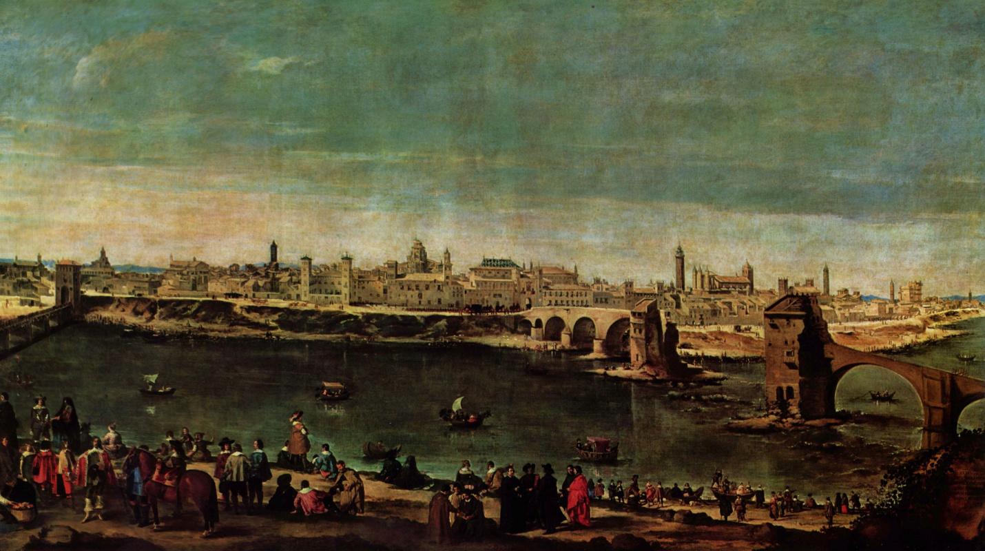 Диего Веласкес. Вид Сарагоссы