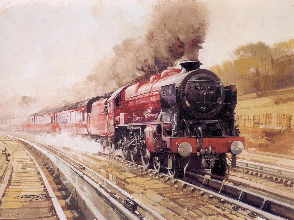 Днем рождения, ретро открытки поездов