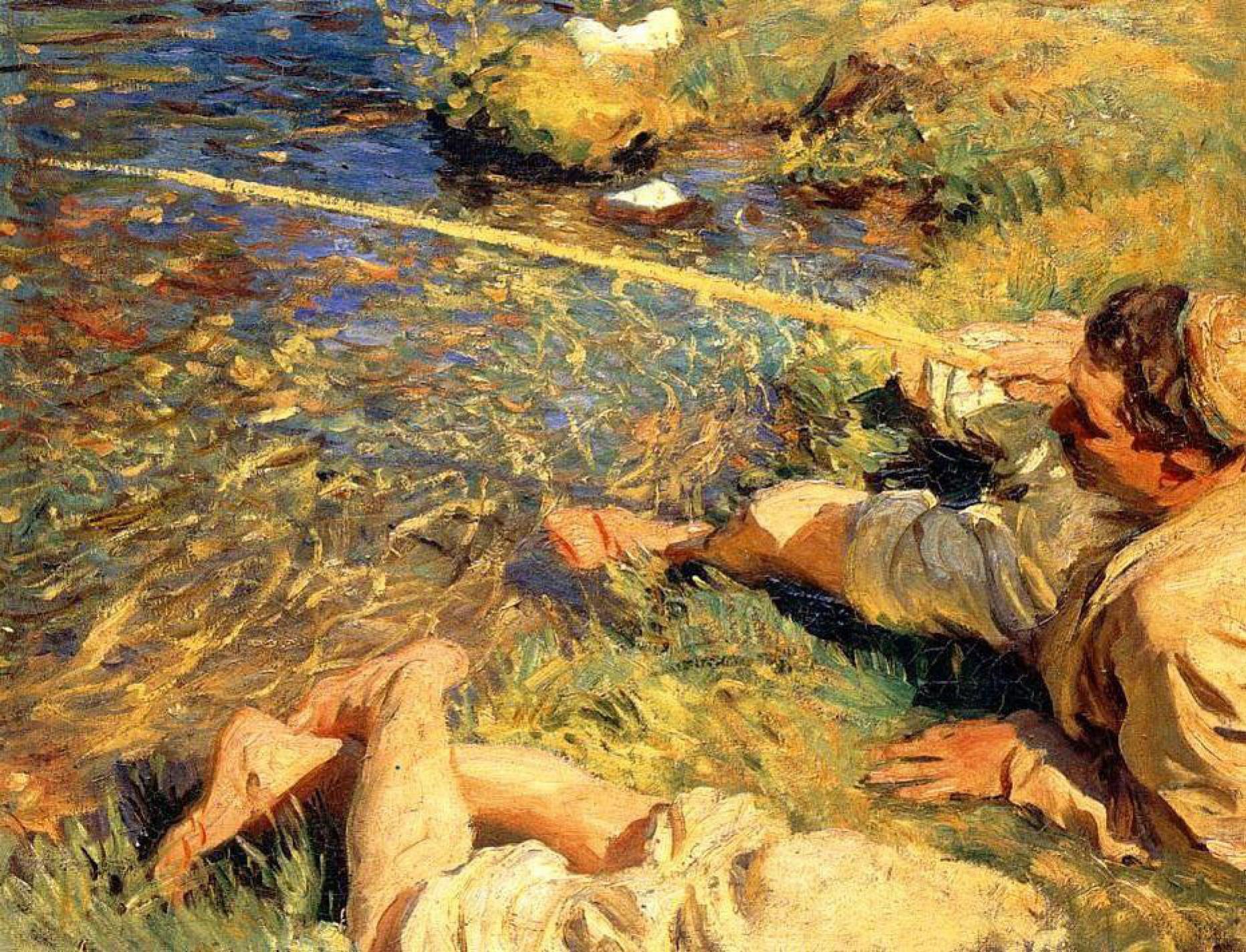 Джон Сингер Сарджент. Рыбак на Валле-дАоста
