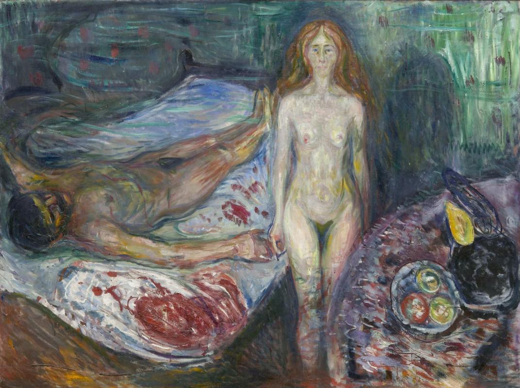 Edvard Munch. The Death Of Marat