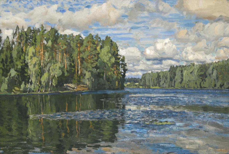 Stanislav Yulianovich Zhukovsky. Lake Moldino