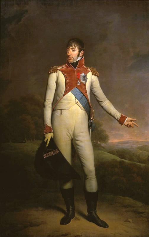 Чарльз Ходжес. Портрет Луи Наполеона