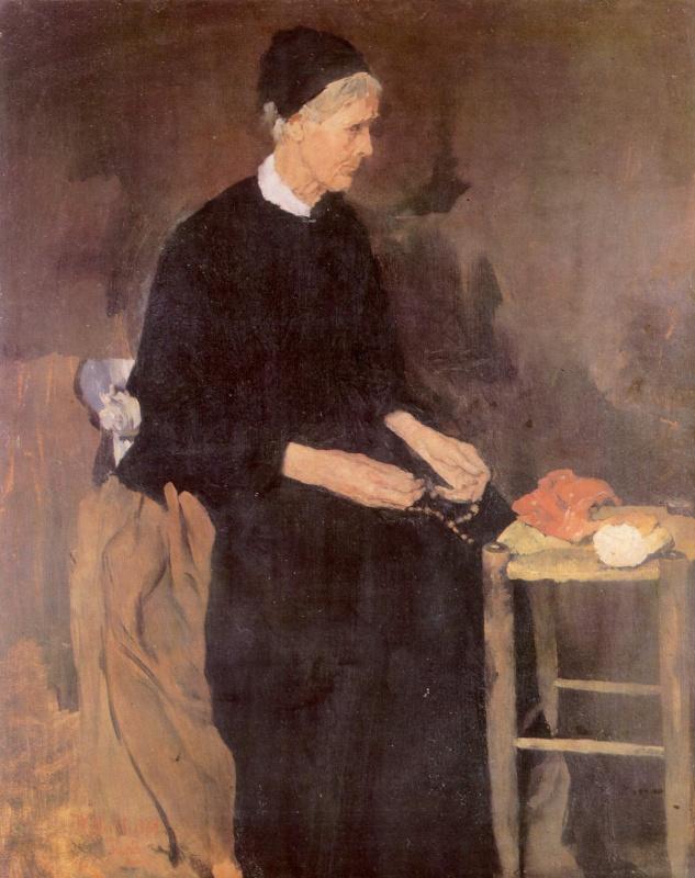 Вильгельм Мария Хубертус Лайбль. Старая парижанка