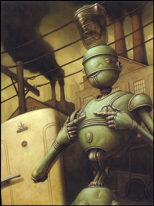 Брайан Деспейн. Робот