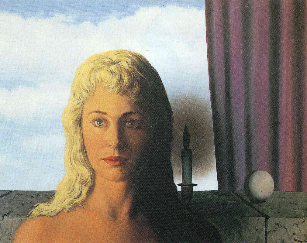 René Magritte. The ignorant fairy