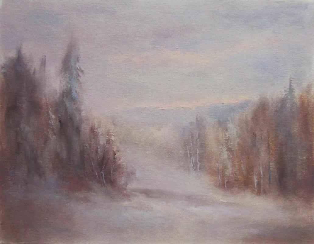 Elena Yudina. Early twilight