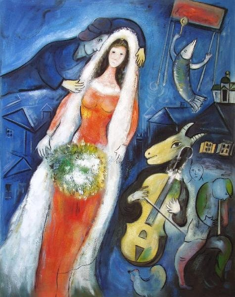 Marc Chagall. The bride