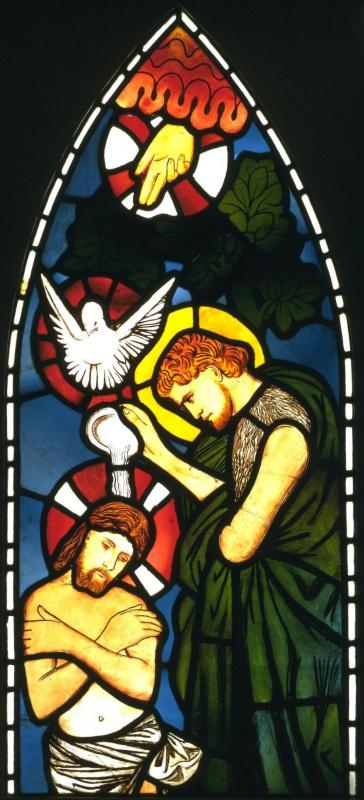 Эдвард Коли Бёрн-Джонс. Крещение Христа