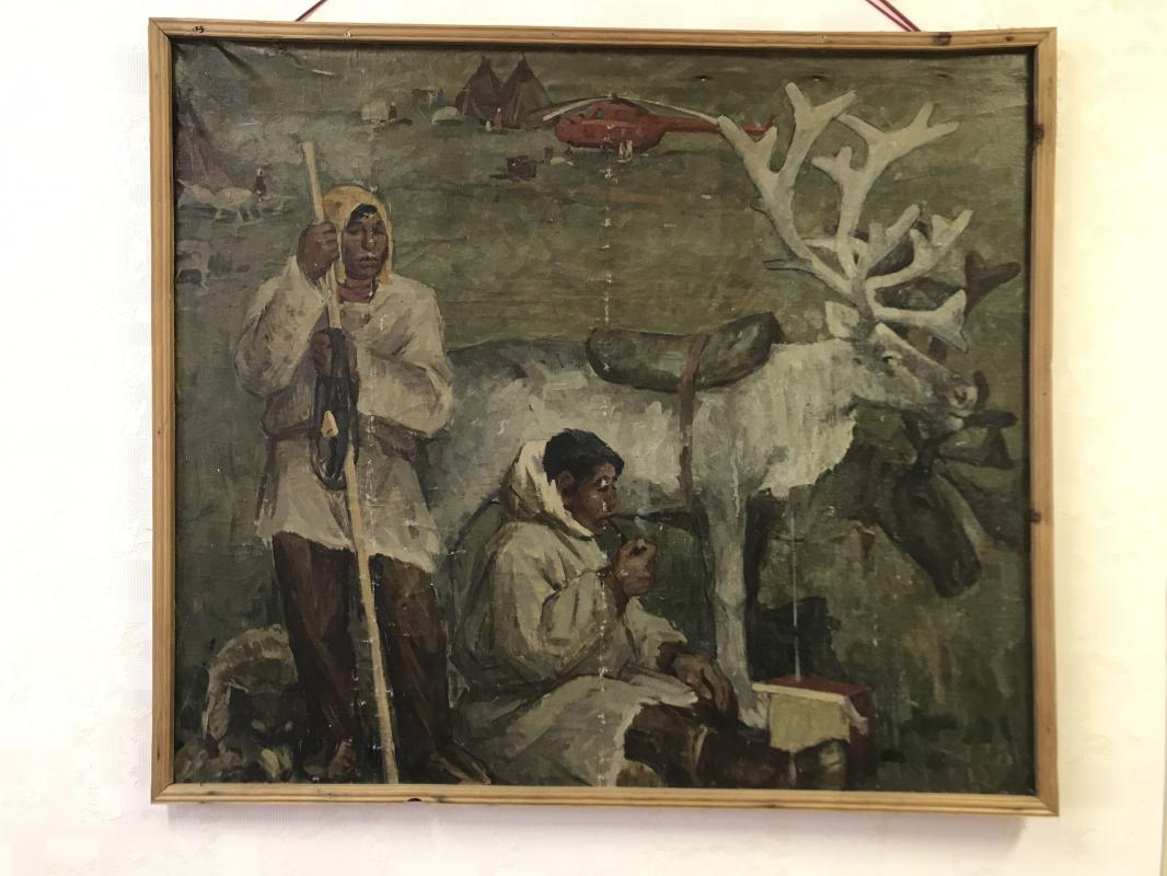 Mikhail Mikhailovich Otvagin. Reindeer Herders of Chukotka