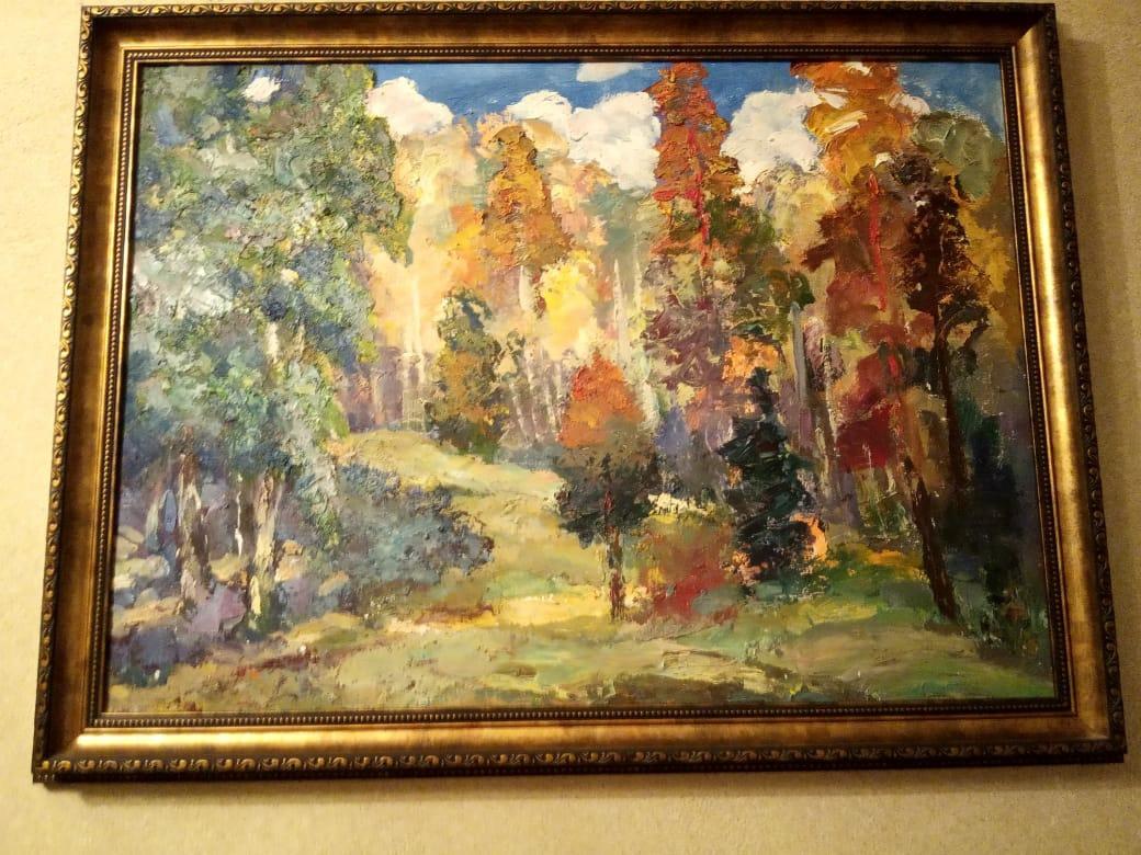 Valery Vasilyevich Chevelev. 1 painting Autumn, 2 painting Month, 3 painting Dam