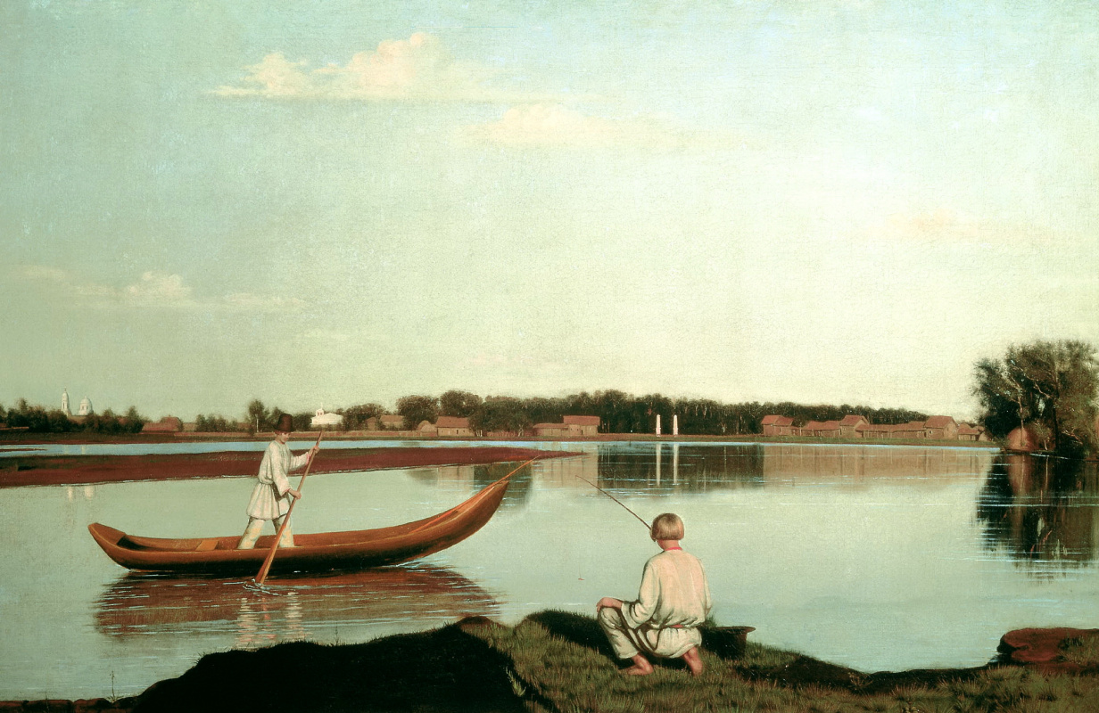 Григорий Васильевич Сорока. Рыбаки
