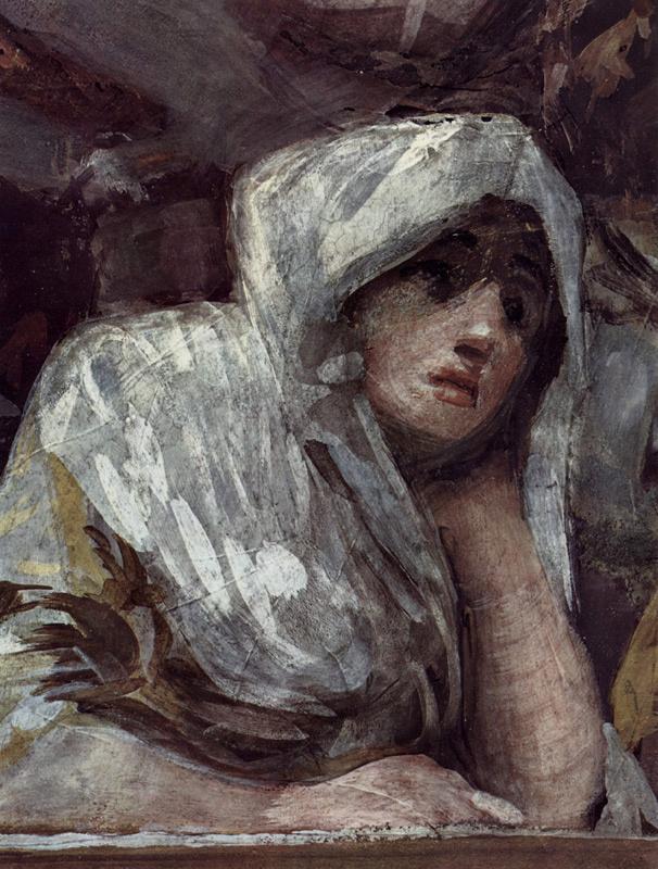 Франсиско Гойя. Фреска часовни Св. Антония Флоридского, деталь 2