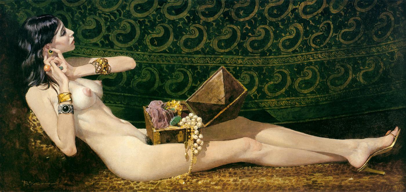 Robert McGinnis. The Woman Tiffany