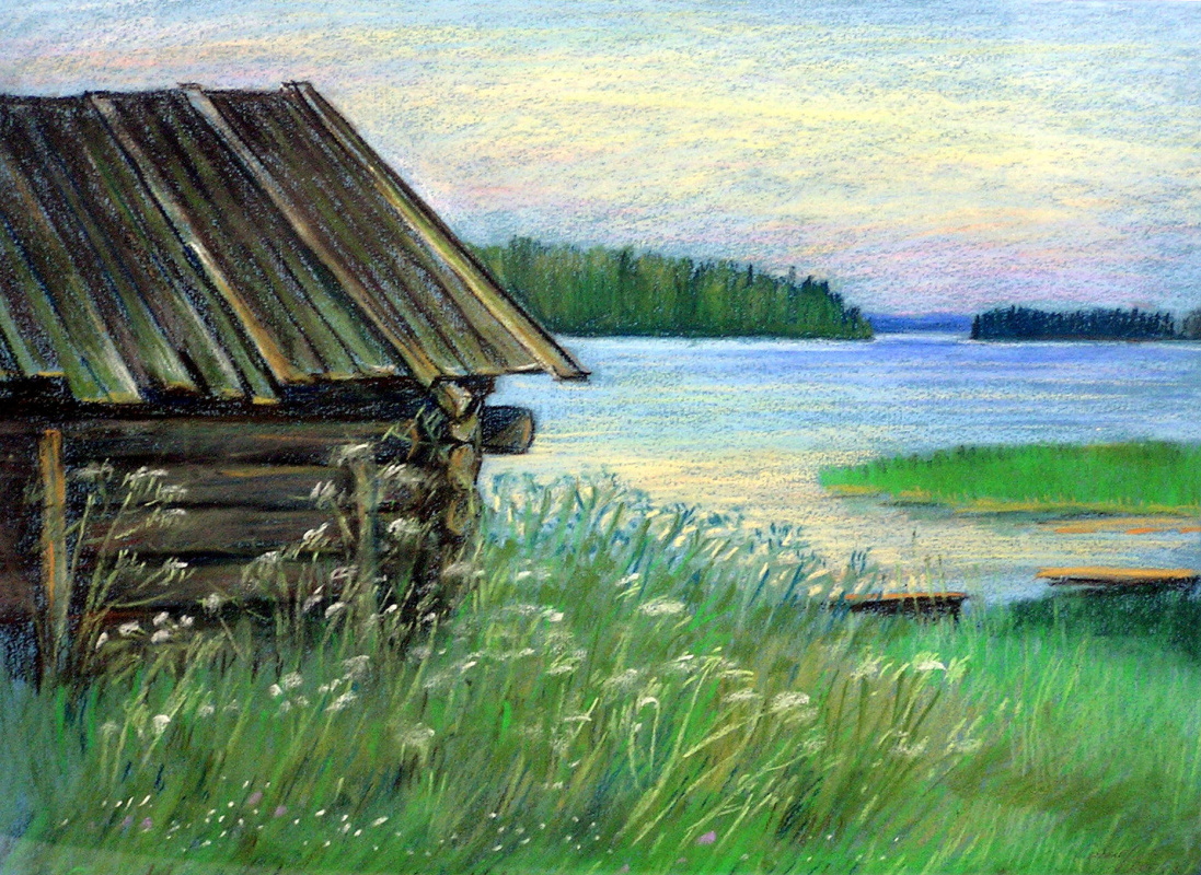 Ирина Соболева. Старая баня в Горке