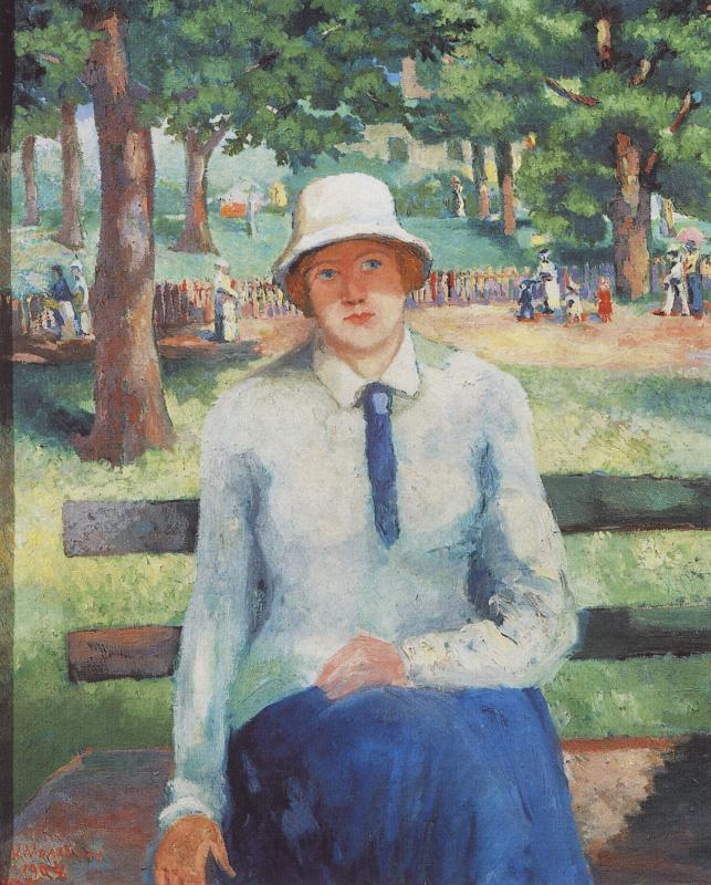 Kazimir Malevich. Unemployed girl