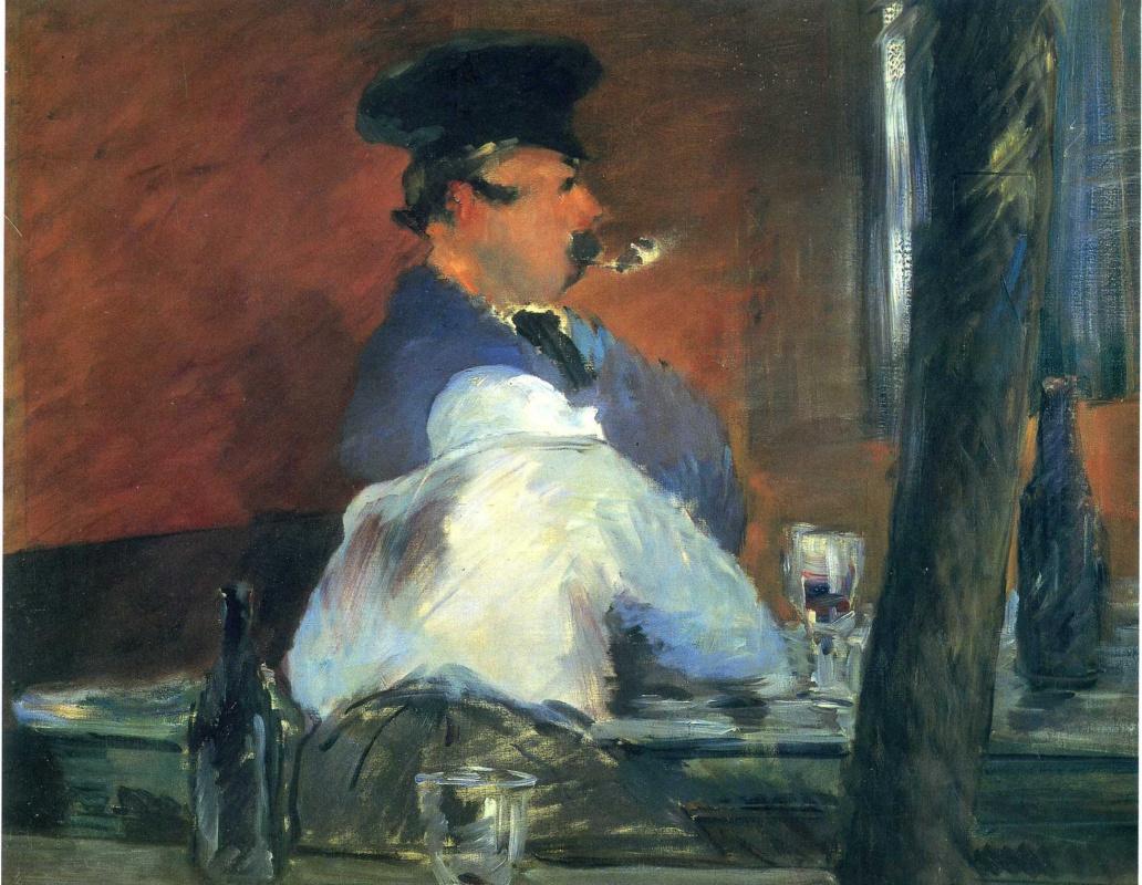 "Эдуар Мане. В баре ""Le Bouchon"""