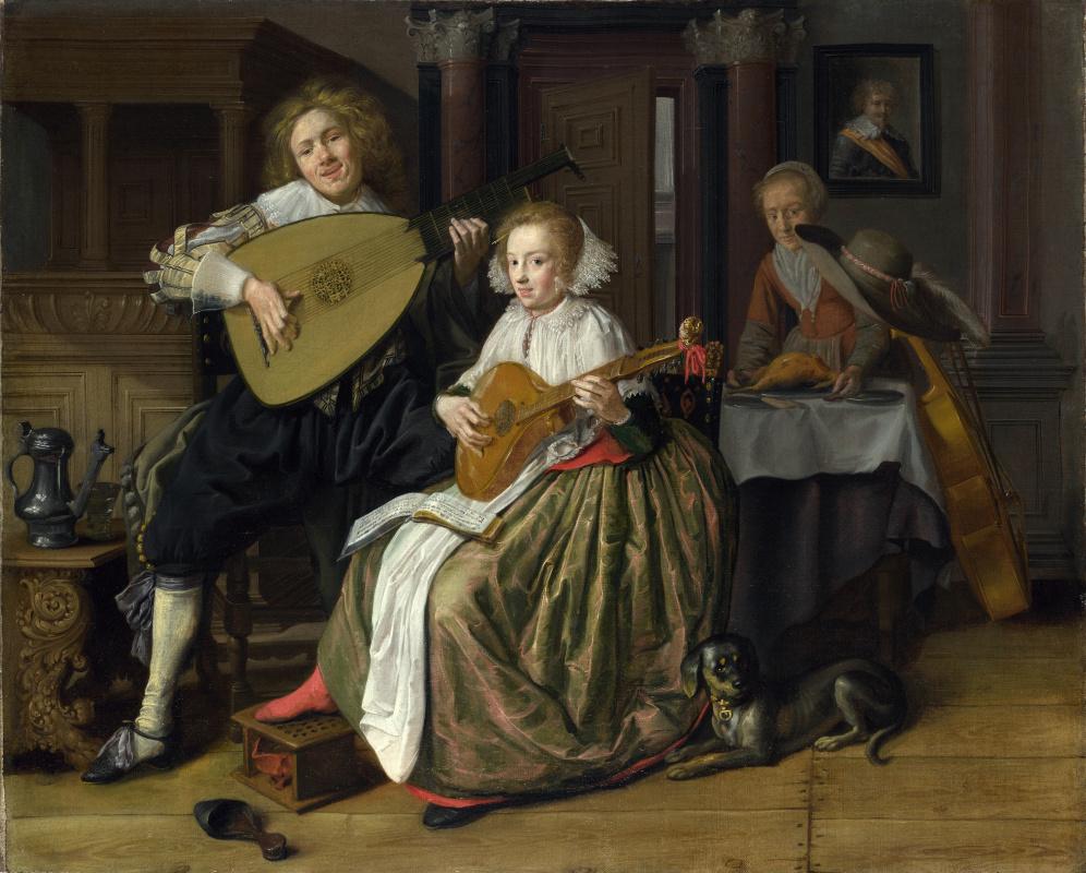Ян Минсе Молинар. Молодые мужчины и женщины, занимающиеся музыкой