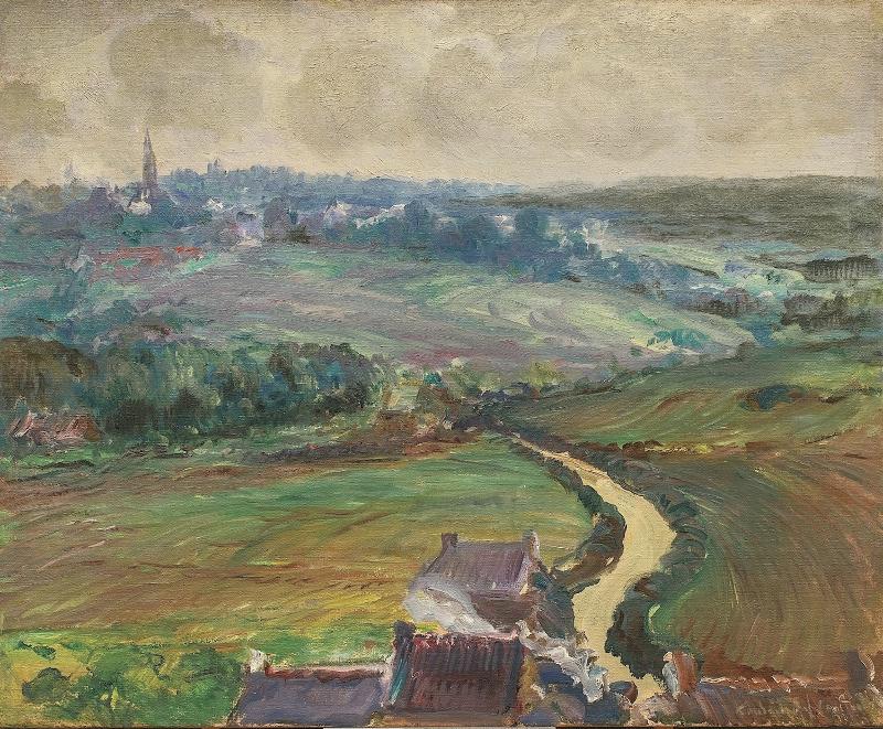 Konstantin Pavlovich Kuznetsov. The road to Ville-Pishar