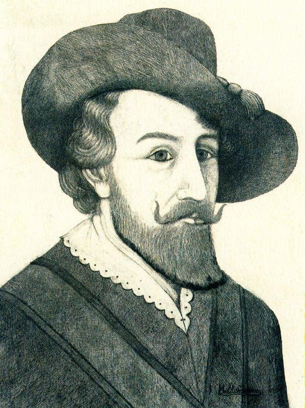 Хигинио Маллебрера. Мужчина в шляпе