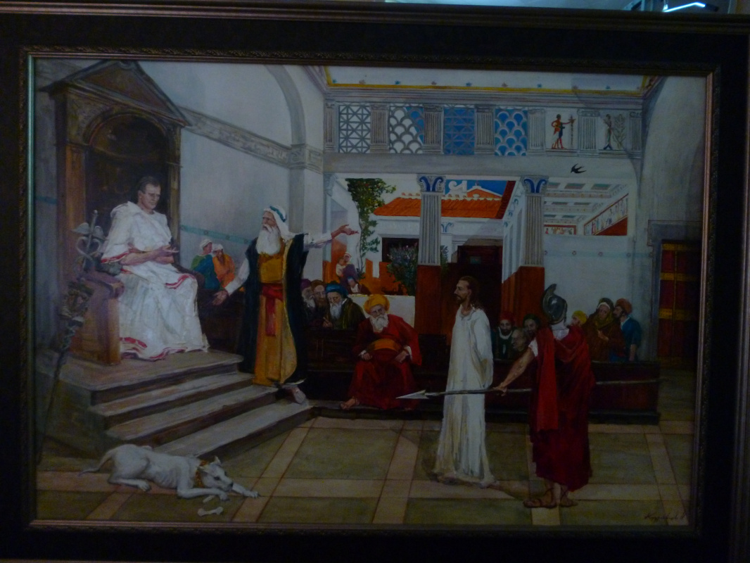 Ivan Vladimirovich Kudryavtsev. Christ before Pilate