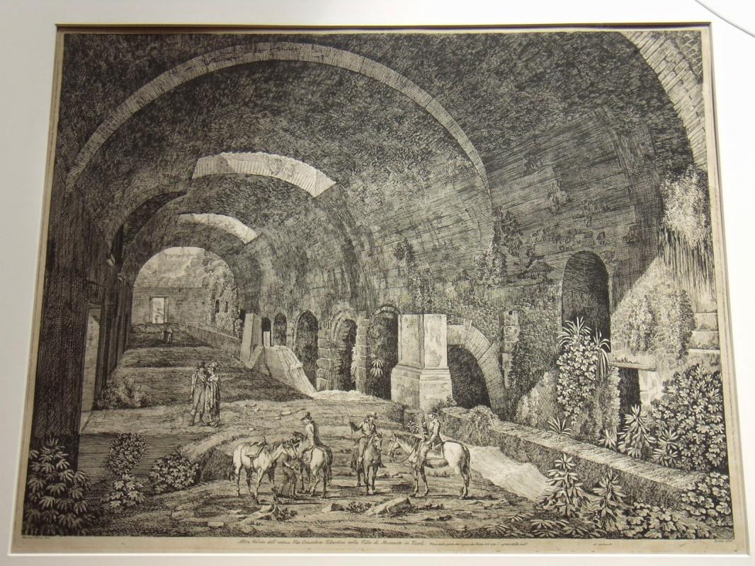 Луиджи Россини. Villa di Mecenate in Tivoli