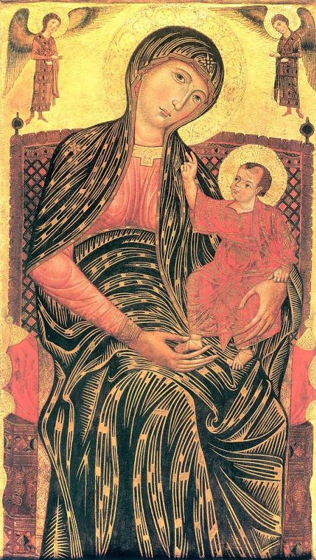 Магдален. Божья Матерь с младенцами