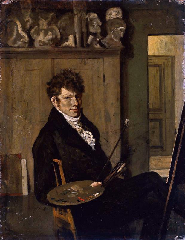Йоханнес Ван Труствийк. Автопортрет