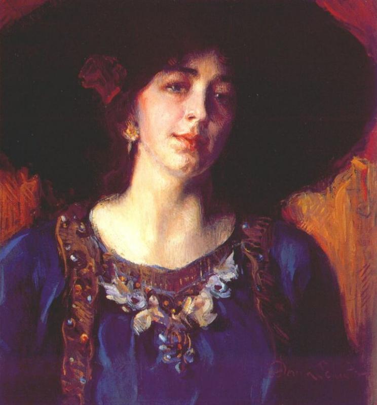 Донна Шустер. Черная шляпа