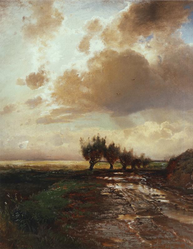 Alexey The Kondratyevich Savrasov. Road