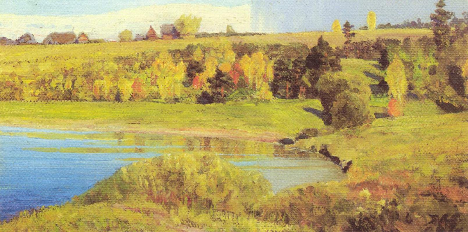 Василий Дмитриевич Поленов. Ока близ Тарусы