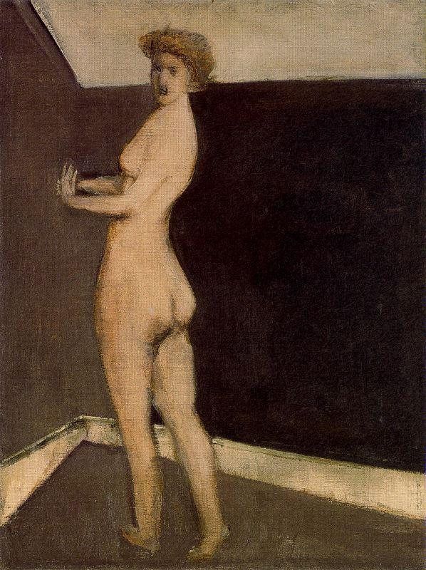 Rothko Mark. Naked girl