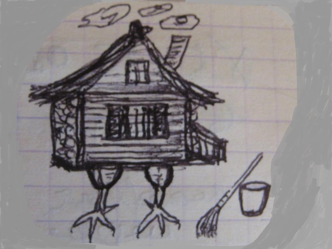 "Alexey Grishankov (Alegri). ""Self-propelled hut"""