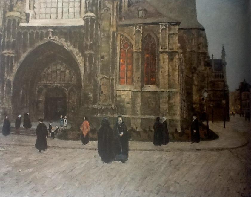 Дарио де Ригойос. Месяц Богородицы в Брюсселе