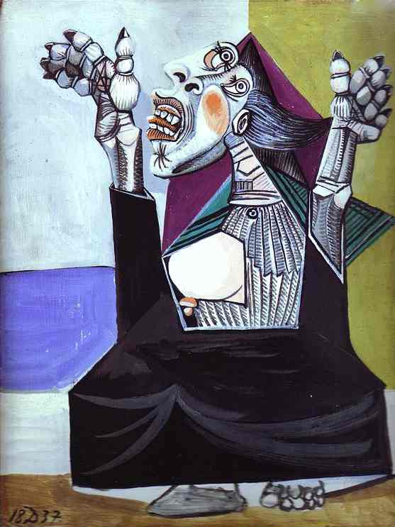 Пабло Пикассо. Проситель