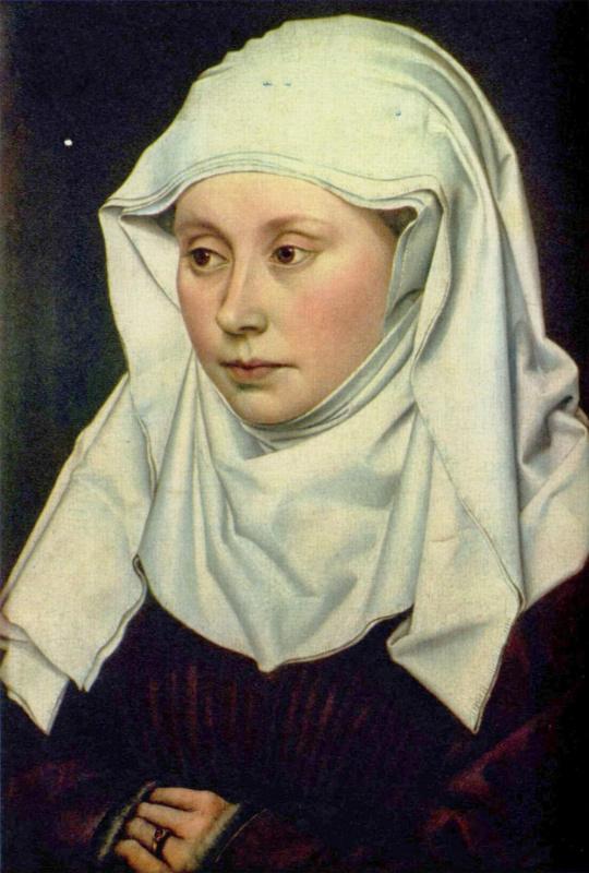 Робер Кампен. Женский портрет