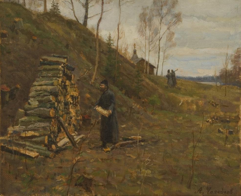 Aleksandr Chagadaev. The monks