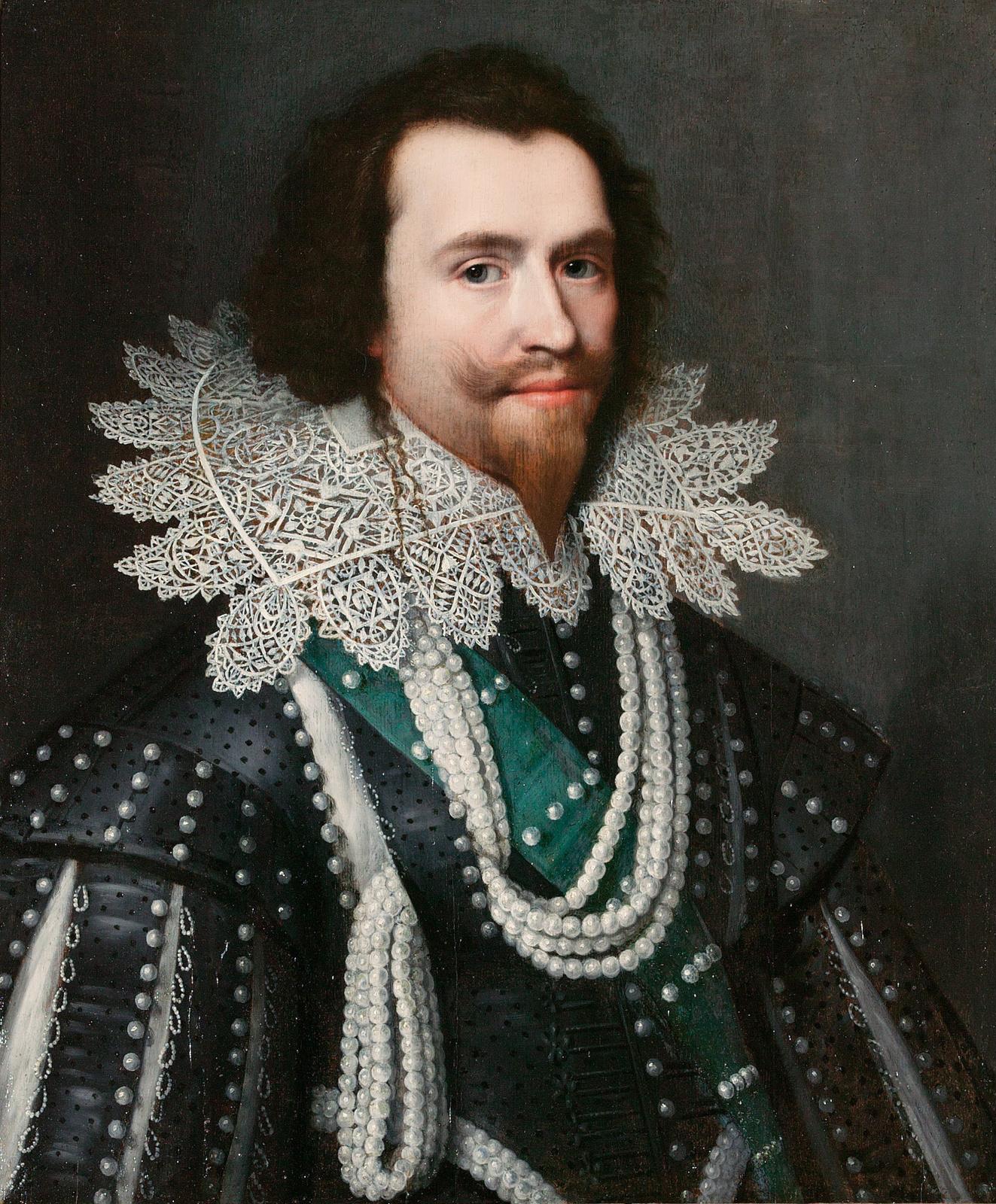 Янсон Михиль   ван Миревельд. Портрет Джорджа Вилльерса, герцога Бэкингем