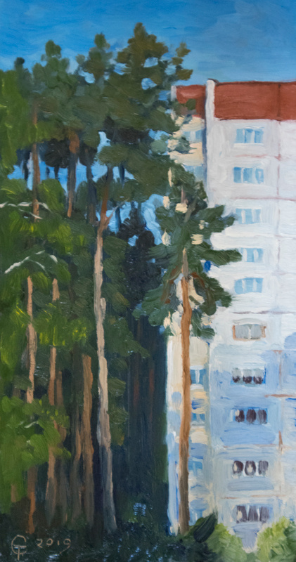 Konstantin Vyacheslavovich Starooskolsky. New buildings. Etude