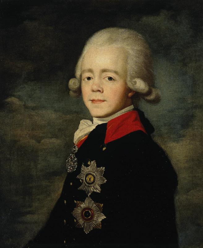 Андрей Филиппович Митрохин. Портрет императора Павла I