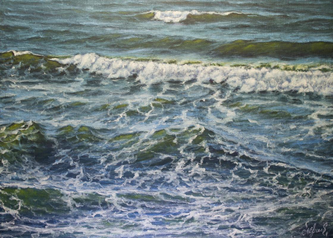 Valery Levchenko. No. 580 Seascape.