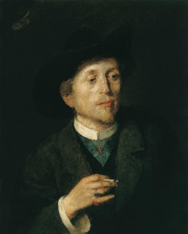 Anton Azhbe. Self-portrait