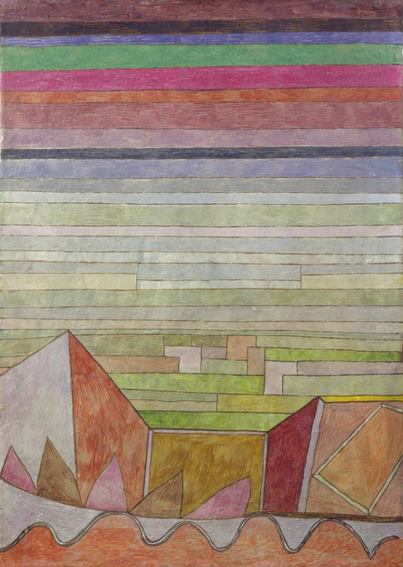 Paul Klee. View Into The Fertile Country