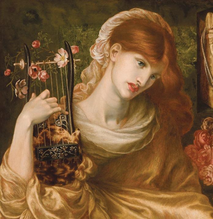 Данте Габриэль Россетти. Римская вдова. Фрагмент