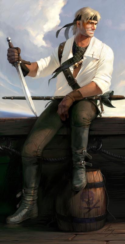 Анри Немо. Пират