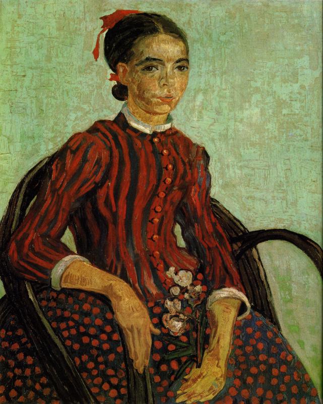 Vincent van Gogh. La Mousmé
