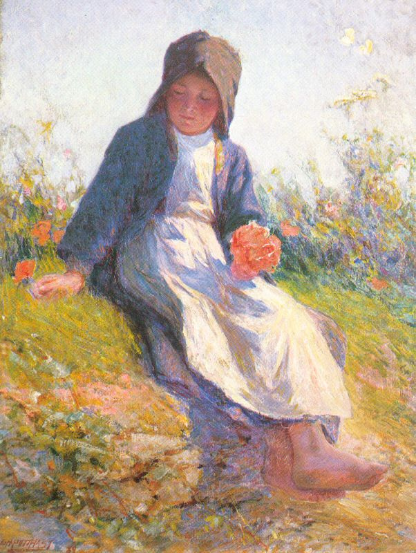 Эдвард Генри Поттаст. Нежный цветок
