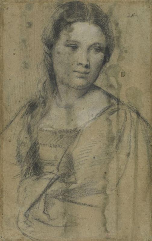 Тициан Вечеллио. Портрет девушки