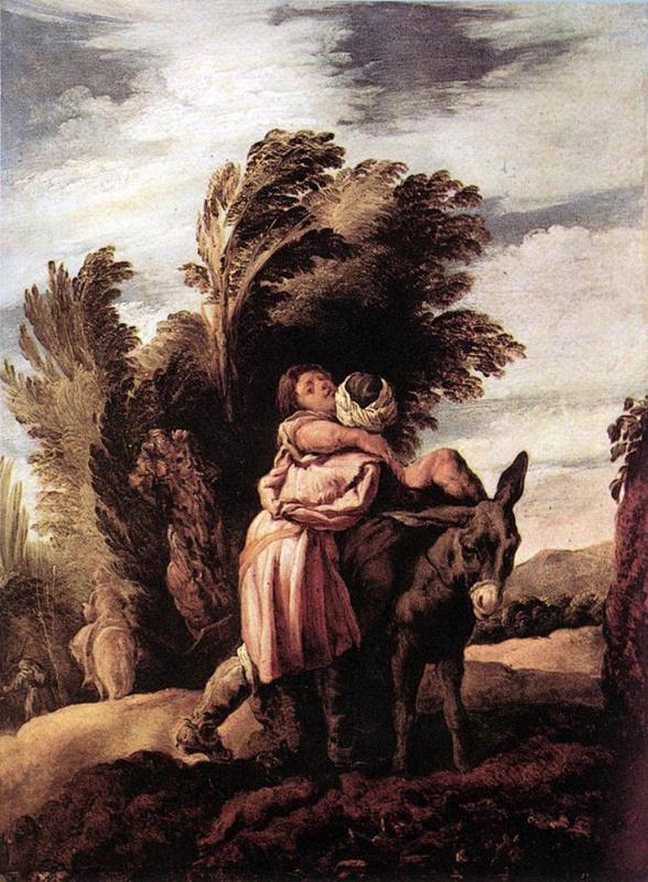Доменико Фетти. Притча о милосердном самарянине