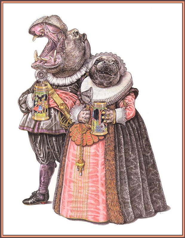 Леонард Любин. Барокко - Голландская мода