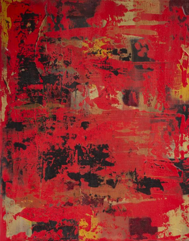 Лариса Сиверина. Red land